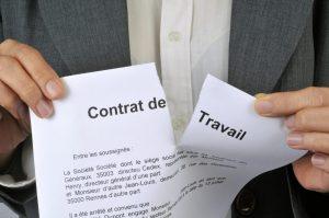 POINT DE DEPART DE LA PRESCRIPTION D'UNE DEMANDE DE PRISE D'ACTE DE LA RUPTURE DU CONTRAT DE TRAVAIL
